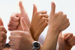 Testemonials -thumbs-up