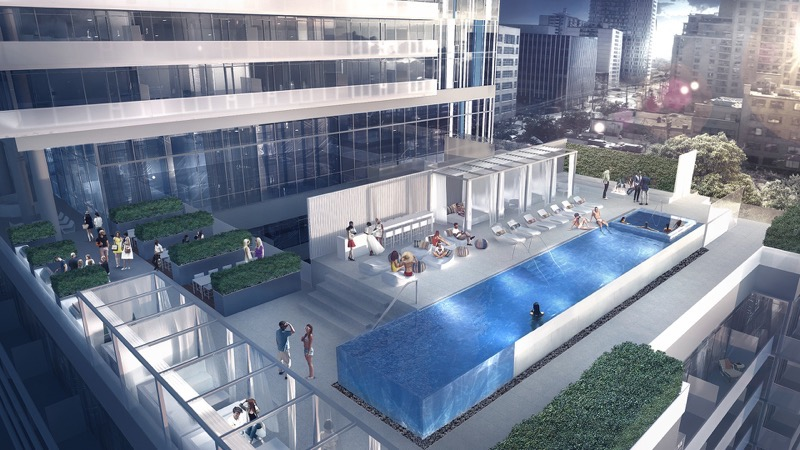 150 Redpath-Condos.ca -Infinity Pool