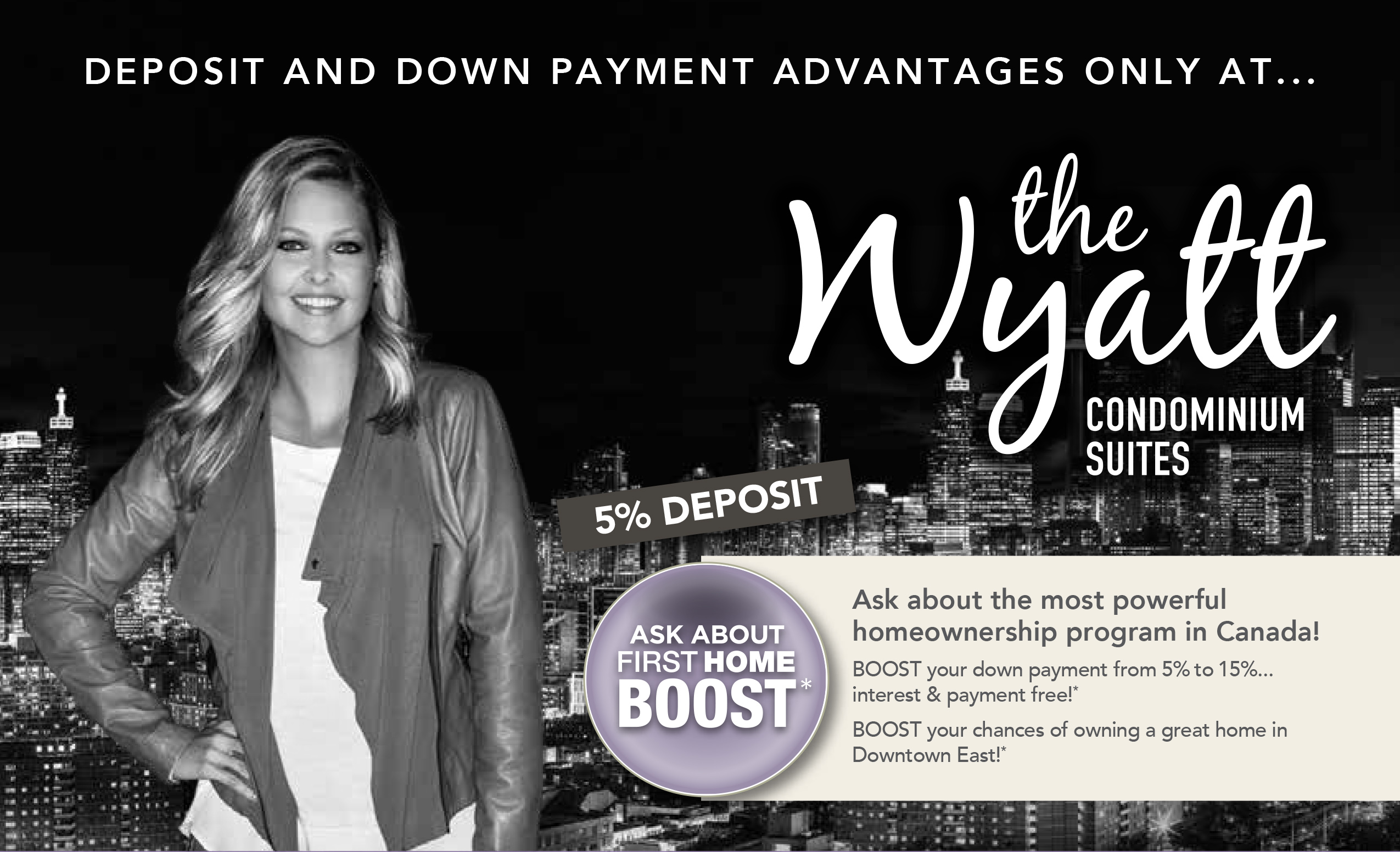 First-time Home Buyer Boost Program for Wyatt Condominiums